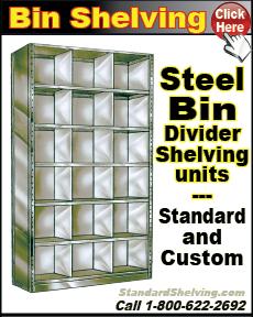 Bin Shelving